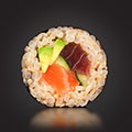 Tosai - Salmon Tuna Brown Roll