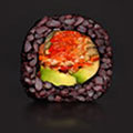 Tosai Black Rice Vegan sushi - Spicy Veggie Mix